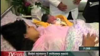 Bebé número 7 millones nació en Instituto Perinatal de Lima