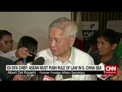 ASEAN must push Rule of Law in South China sea