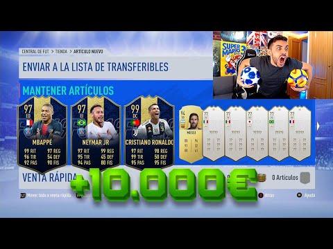 ME GASTO +10.000€ EN FIFA 19 PARA ESTO