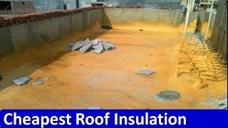Best Roof Insulation method with soil and brick tile