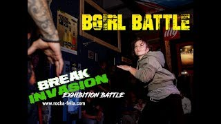 Break Invasion Exhibition Battles:  Bgirl Battle Courtnae vs Karla