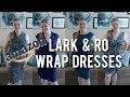 AMAZON WRAP DRESSES | 👗 Lark & Ro Try On
