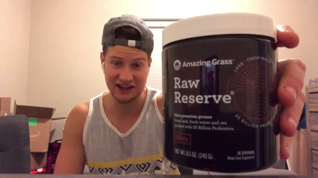 Amazing Grass Raw Reserve Review – My Experience
