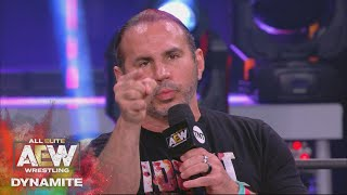 Matt Hardy Solves the Mystery Attacker or Did He? | AEW Dynamite, 9/23/20