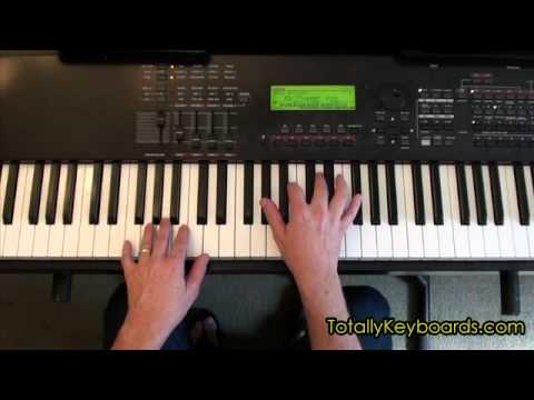 Just The Way You Are Keyboard Piano Lesson Youtube