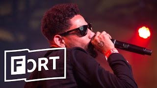 On Day 1 of The FADER FORT 2017, PnB Rock cruised through some of h...