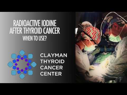 Radioactive Iodine After Thyroid Cancer