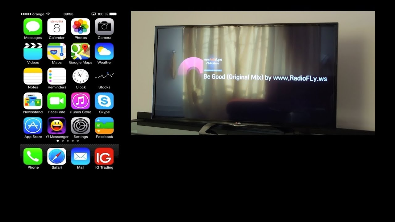 how to connect smart tv to iphone 2016 app update airplay photos and from 1486