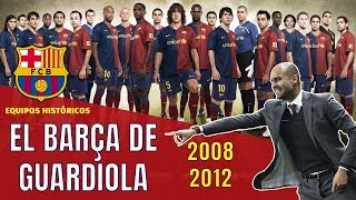 ⚽  Barcelona´s Guardiola (2008-2012) 💙 ❤️ The story of Sextuple 🏆 🏆 🏆 🏆 🏆 🏆 Tiki Taka Team