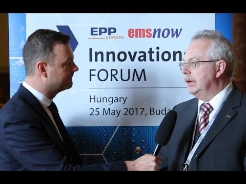 Interview with Norbert Heilmann, ASM Assembly Systems at InnovationsFORUM Hungary 2017