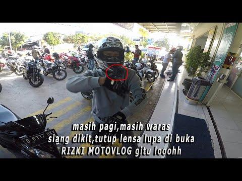 SUNMORI bawa versys 250 | riding bareng subscriber nya RizkiMotovlog