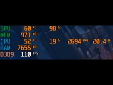 Cách hiển thị FPS trong mọi game với MSI AfterBurner