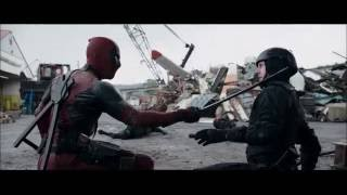 Deadpool 2016 Scrapyard Fight Scene