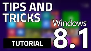 TOP 5 Windows 8.1 (Features) TIPS & TRICKS (Latest/2014)