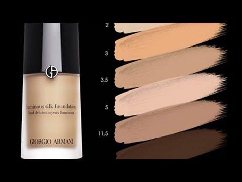 Giorgio Armani Luminous Silk Foundation Shade 5 Review Urdu Hindi Youtube