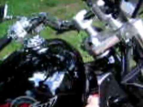 Coolant replace&flush on a Honda Motorcycle