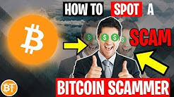 🔎How To Spot A Bitcoin Scammer 2020 -Types Of Bitcoin Scams