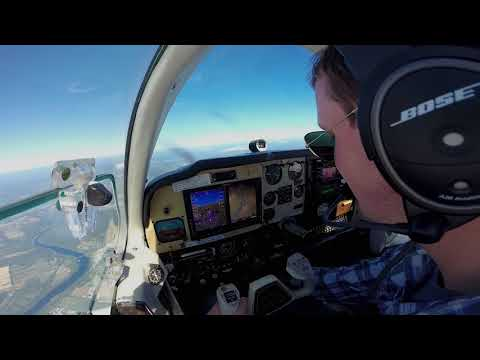 V-Tail Bonanza Lunch Flight