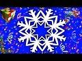 Поделки - Как сделать СНЕЖИНКУ из бумаги. DIY снежинка своими руками. Новогодние поделки оригами