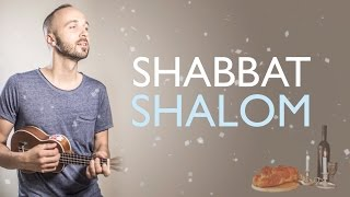"Joshua Aaron // Shalom (Lyric Video) the ""Shabbat Shalom Song"" שלום"