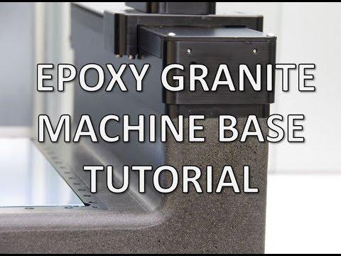 How to Build Epoxy Granite Machine Base
