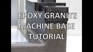 How to Build Epoxy Granite Machine Base