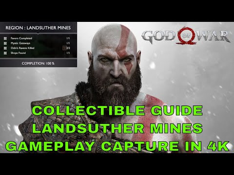 Landsuther Mines All Collectible Locations Guide (God Of War 2018)