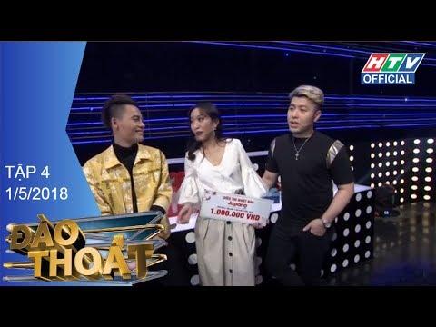 HTV ĐÀO THOÁT | Akira Phan và Võ Tấn Phát buồn vì lỡ tham lam | DT #4 FULL | 1/5/2018