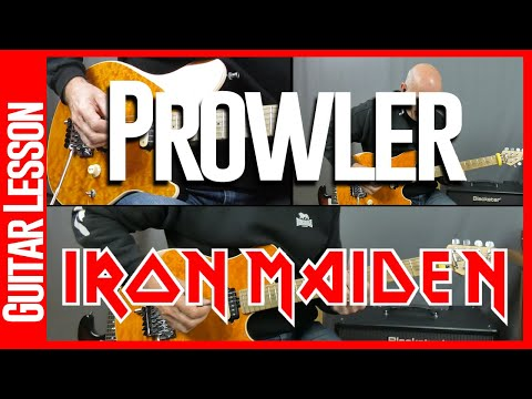 Prowler By Iron Maiden - Guitar Lesson