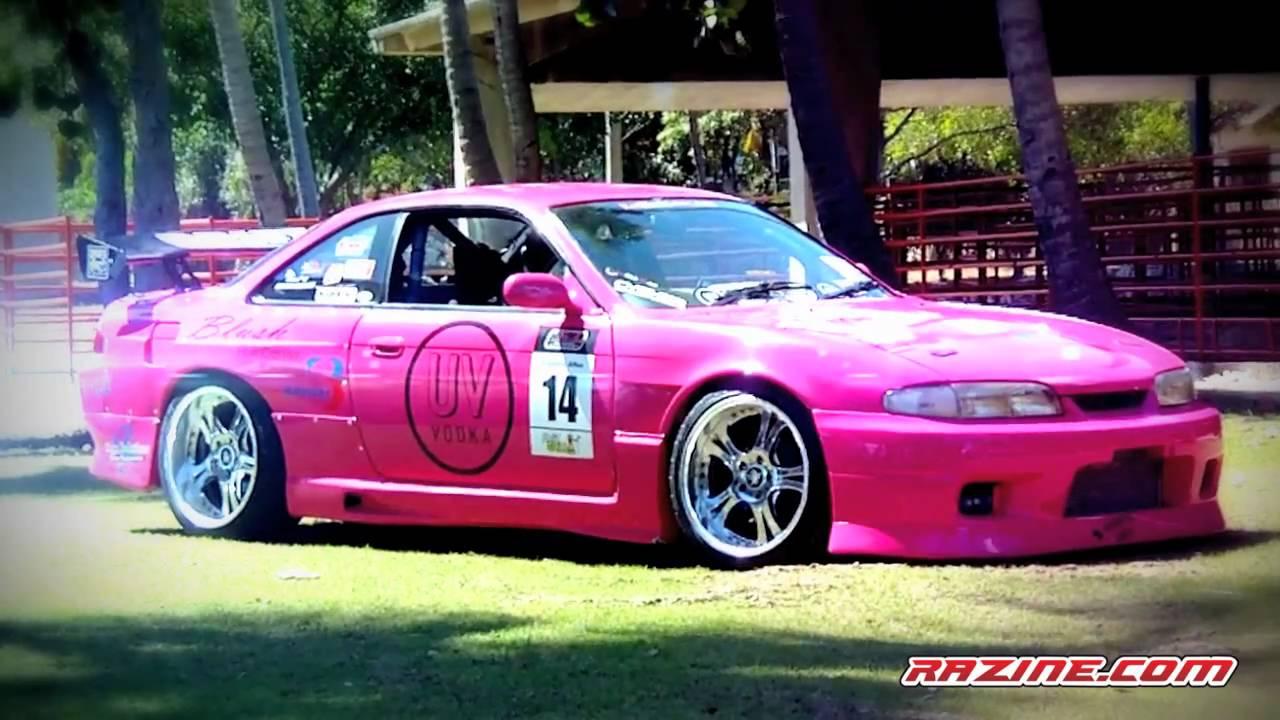 """Pink Illusion Nissan Silvia S14 """"Zenki"""" by Razine - YouTube"""