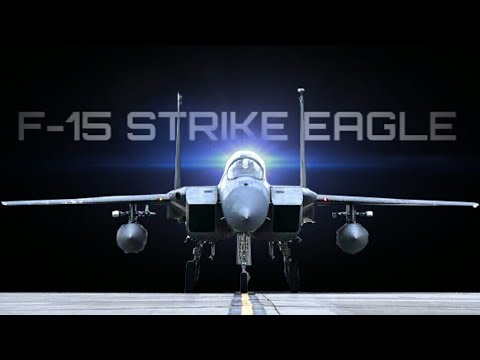 F-15 Strike Eagle In Action