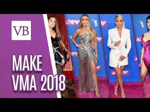 Make das famosas no VMA 2018 - Você Bonita (23/08/18)