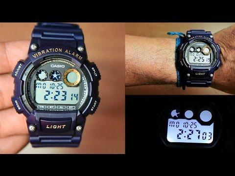 e7a74cd9c4e Casio Standard W-735H-2AV Unboxing - YouTube