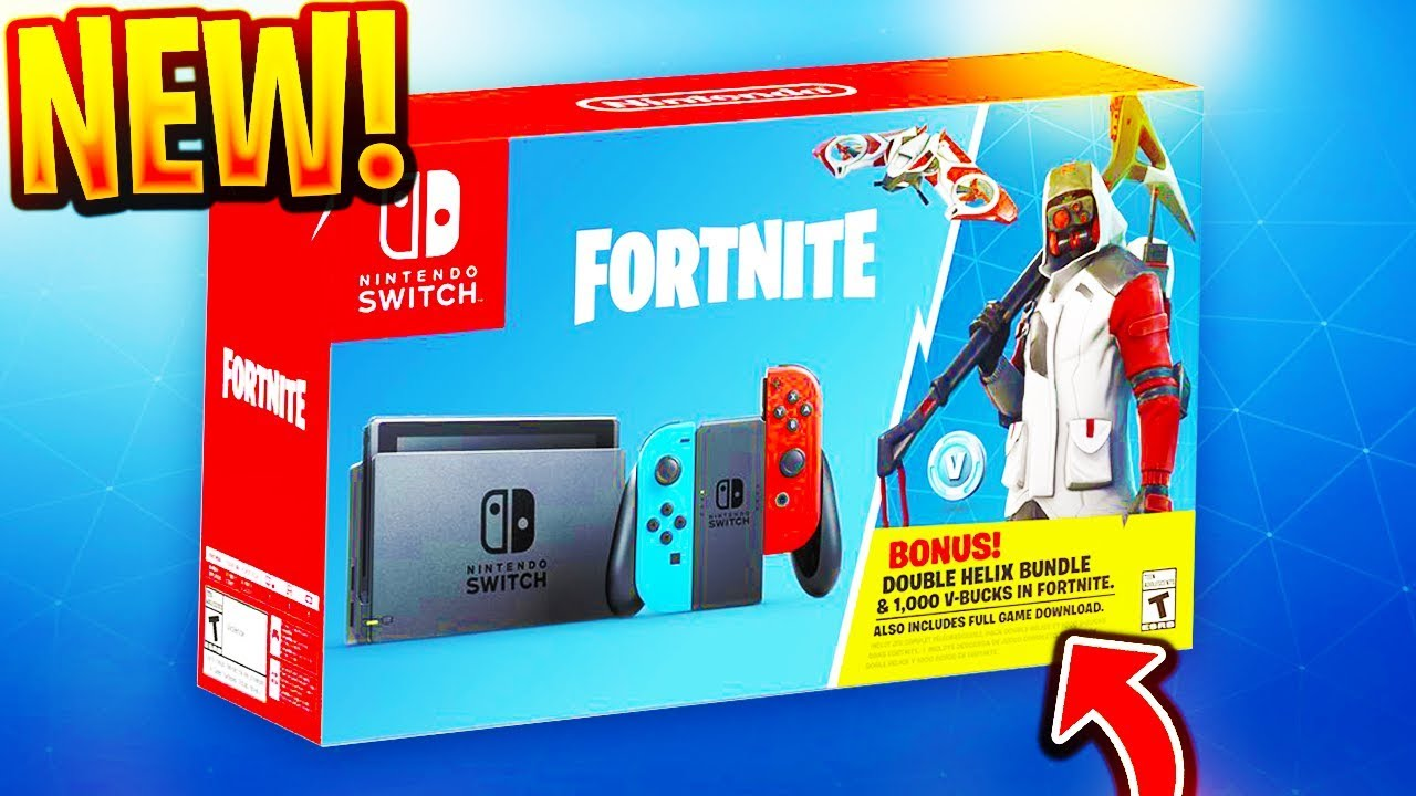 how to get new double helix skin 1 000 v bucks in fortnite new exclusive skin - nintendo switch fortnite double helix code