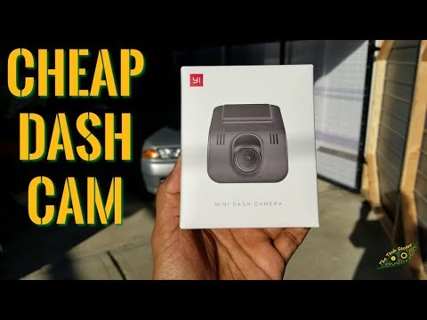 Best Dash Cam Under $50 | Yi Mini Dash Cam