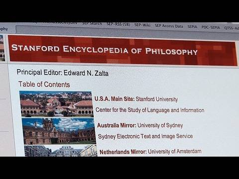 Stanford Offers Philosophy Expertise Online