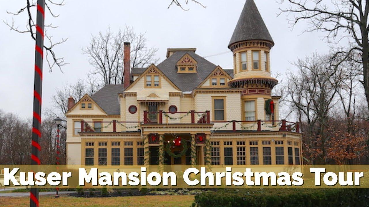 Kuser Mansion Christmas Tour December 16 2018 Weekend Vlog 21 Youtube