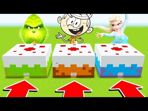 Minecraft: DO NOT CHOOSE THE WRONG CAKE (Grinch,Loudhouse,Frozen) (Ps3/Xbox360/PS4/XboxOne/PE/MCPE)