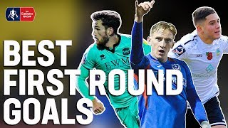 Debut Winners, Solo Goals & Unstoppable Screamers 🚀| Goals of the Round | Emirates FA Cup 19/20