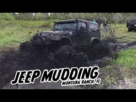 Montura Ranch Jeep Trails and Mudding 5-6-18 Clewiston, FL