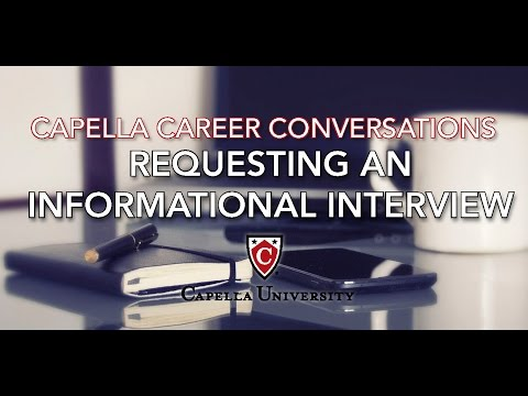 Job Search- Requesting an Informational Interview