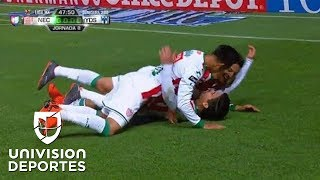 ¡GOLAZO! Víctor Dávila - Necaxa vs Monterrey