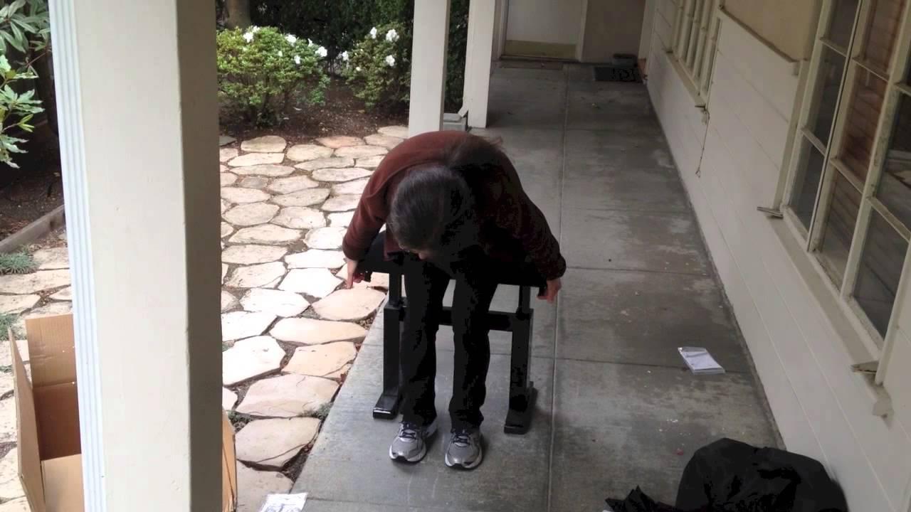 Hidrau Hydraulic Pneumatic Replacement Piano Bench Youtube