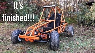 painting the GS500 dune buggy!!!