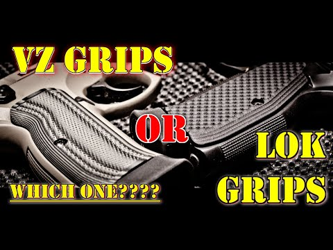 VZ Grips Vs  LOK Grips! The Clear Choice Is