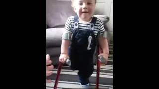 15th June 2016 practice on crutches x
