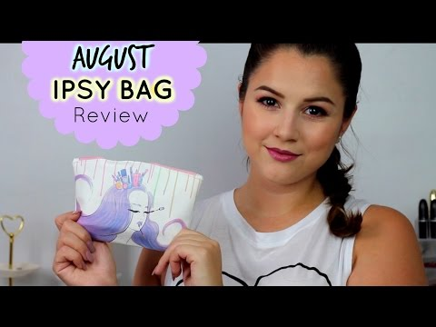 download August Ipsy Bag Review 2016