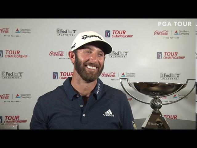 Dustin Johnson Monday Winners Press Conference 2020 Tour Championship - FedEx Cup Playoffs