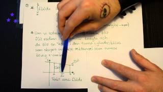 Integraler 11: Rotationsvolymer del 1 - rotation kring x-axeln