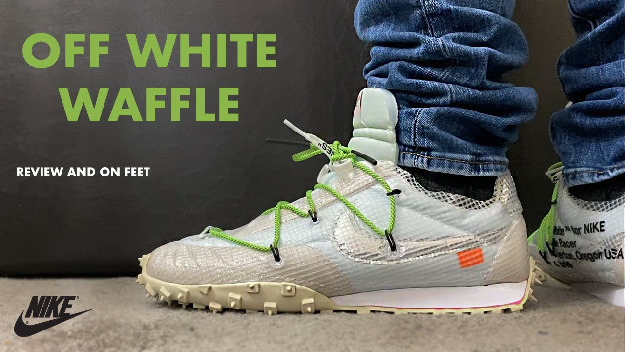 Off White Nike Waffle Racer White Review and On Feet